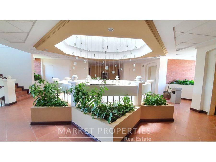 apartamento en alquiler en zona 14 edificio botanica