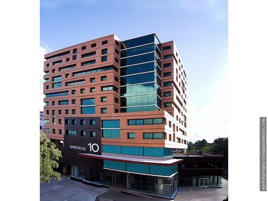 oficinas en alquiler zona 13 americas 10