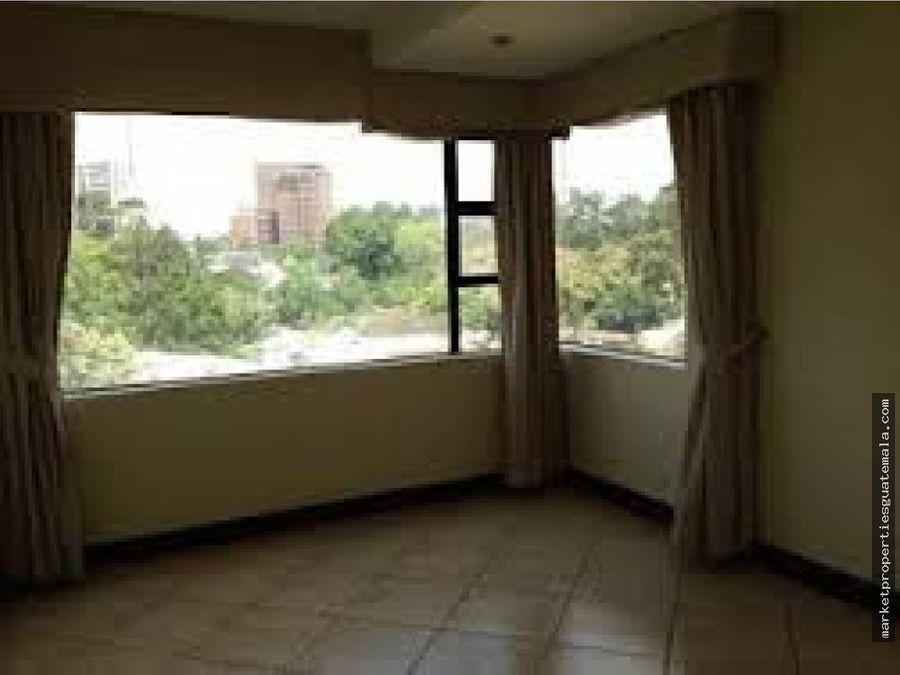 apartamento en alquiler de 3 habitaciones zona 10