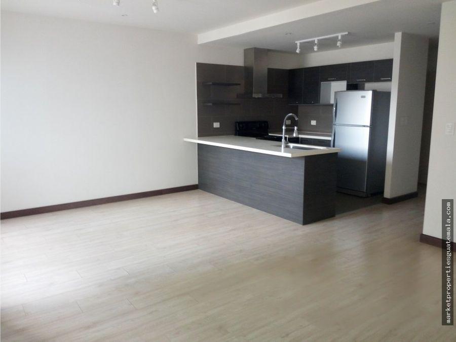 apartamento en venta zona 10 2 dormitorios moderno