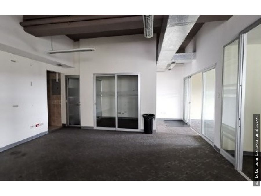 oficina en renta zona 15 guatemala de 186mts2