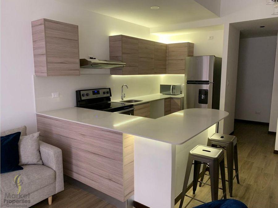 alquilo apartamento en zona 14 de 2 habitaciones
