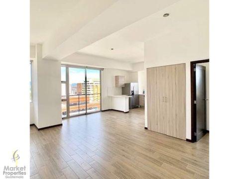 alquilo apartamento en zona 14 de 1 habitacion