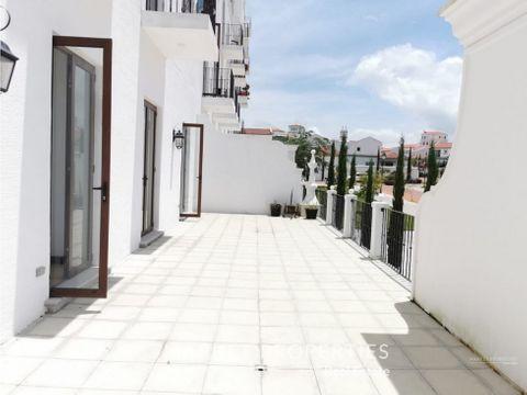 apartamento en renta en zona 16 magnolias de cayala