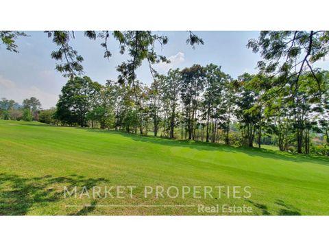 terreno en venta en zona 16 club de golf