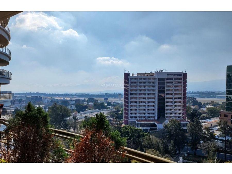 apartamento en alquilo en zona 14 edificio tadeus
