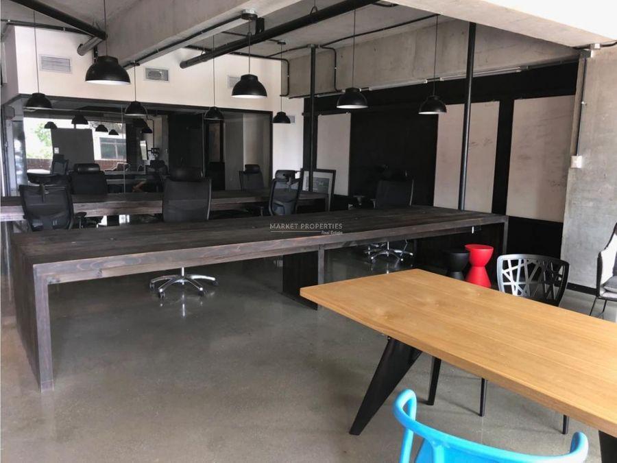 oficina en alquiler en zona 4 edificio cuatro venezia