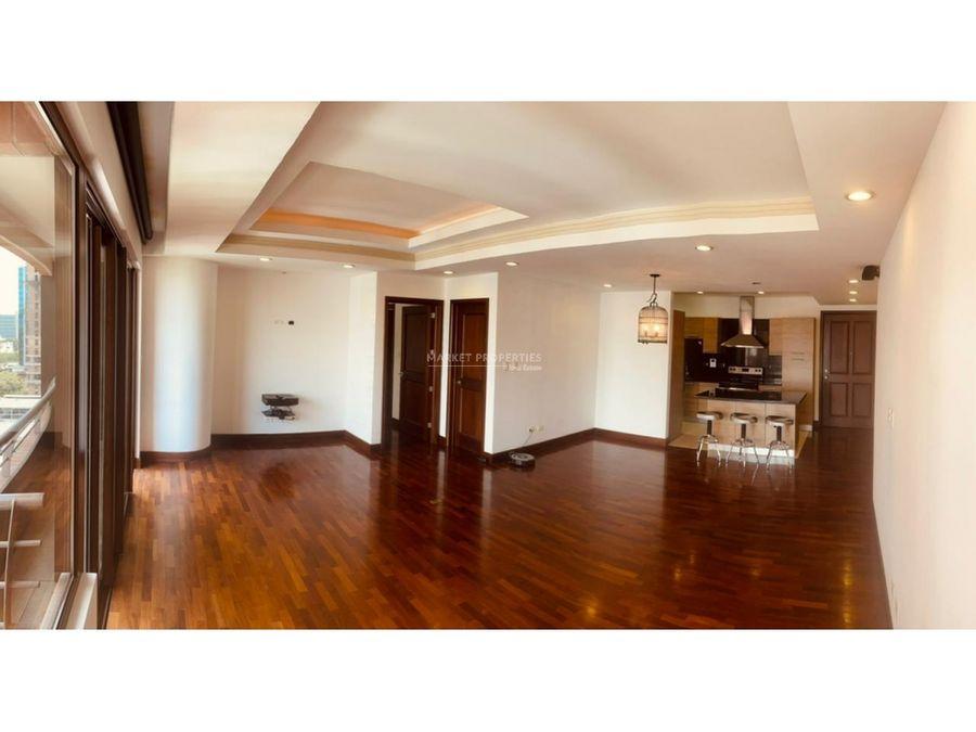 apartamento en alquiler en zona 10 santa maria