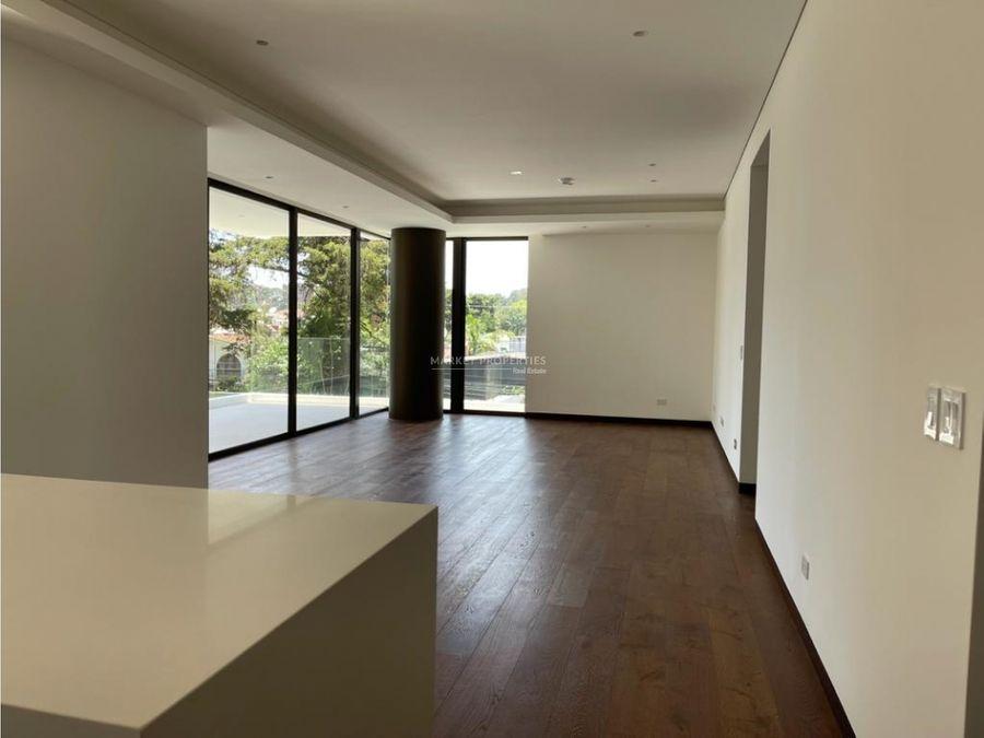 apartamento en alquiler en zona 14 tiffany novena