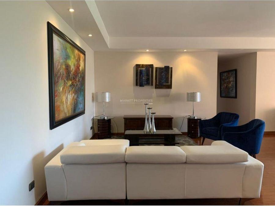 apartamento en renta en zona 14 arcangel miguel