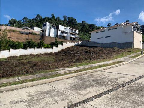 terrenos en venta en zona 16 lomas de san isidro