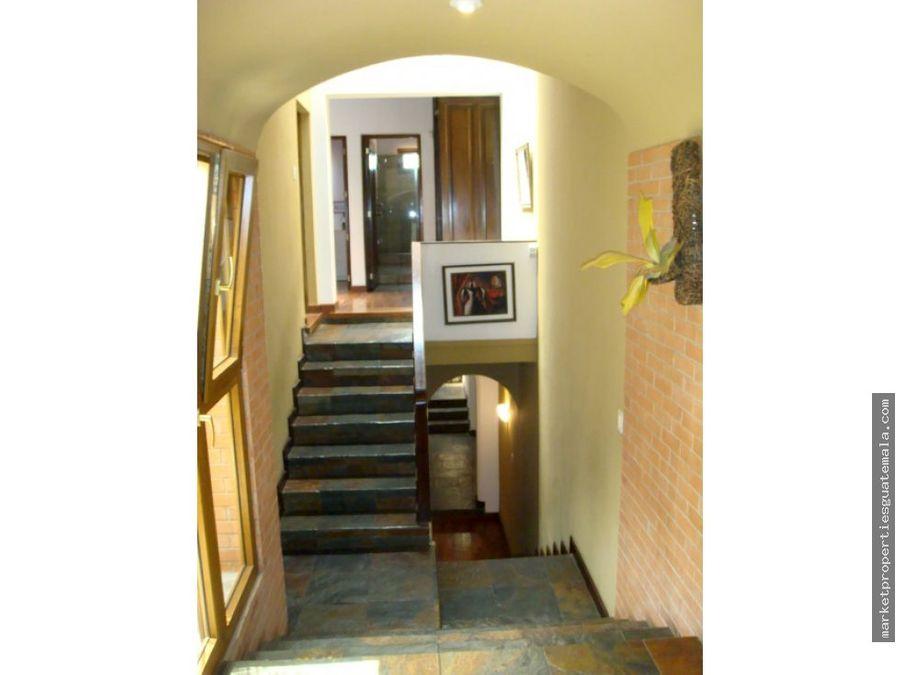 hermosa casa en venta zona 14 guatemala
