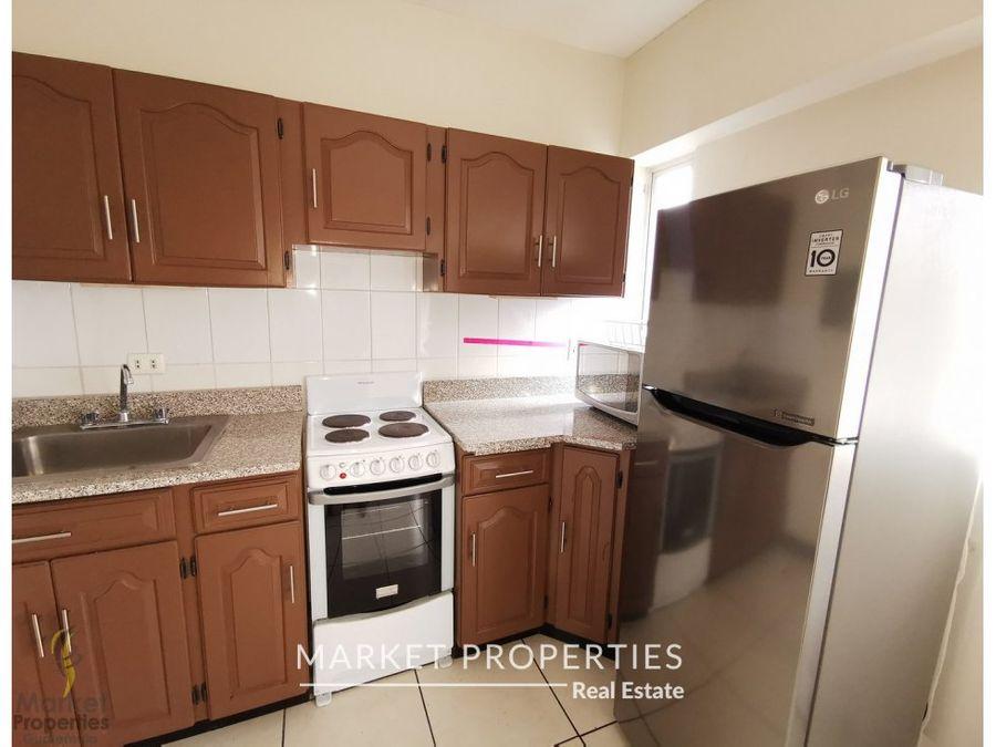 alquiler de apartamento amueblado zona 13