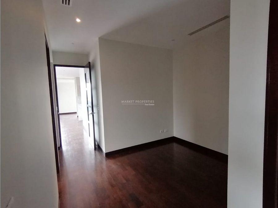 apartamento en alquiler en zona 14 santa ines del parque