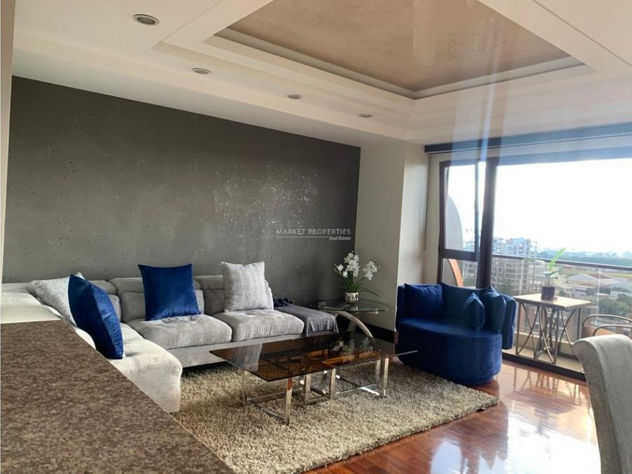 apartamento en renta en zona 14 san patricio 2