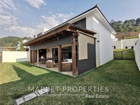 casa en venta en lomas de san isidro zona 16