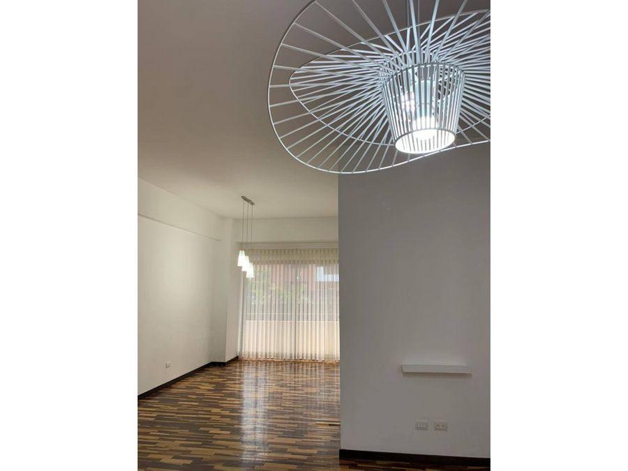 apartamento en alquiler zona 14 moderno