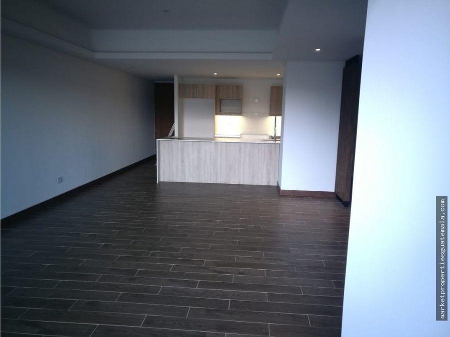apartamento en alquiler zona 10 para estrenar