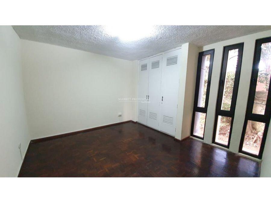 apartamento en alquiler en zona 14