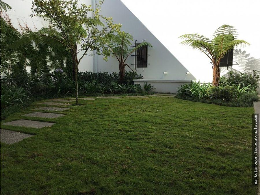 casa en alquiler zona 16 ramblas de cayala