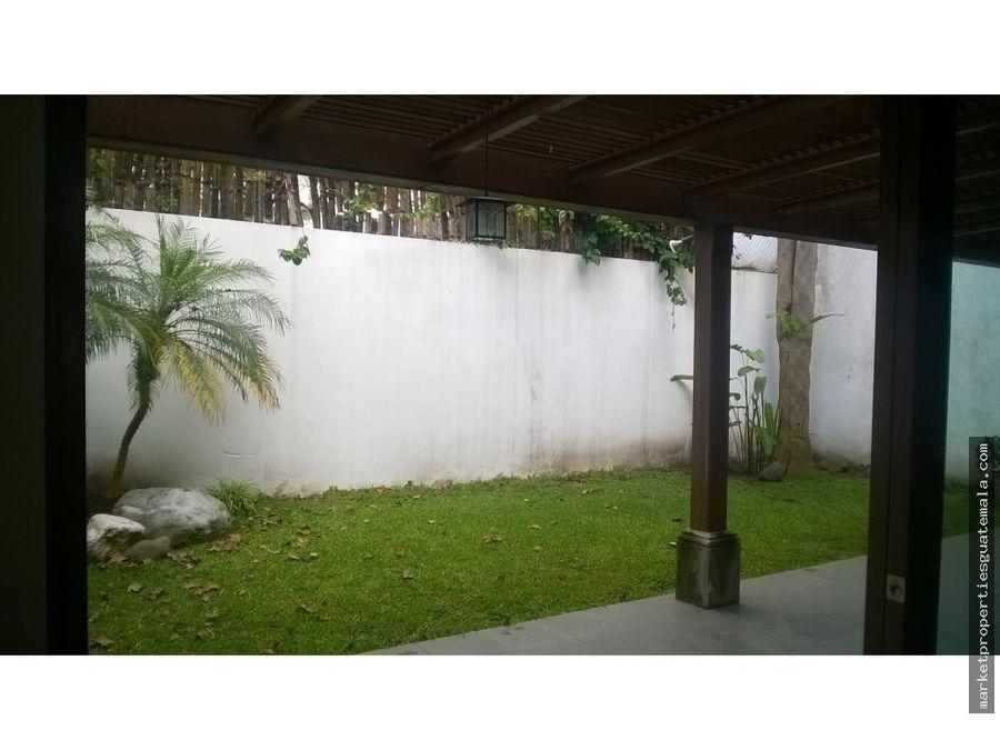 casa en venta zona 14 guatemala