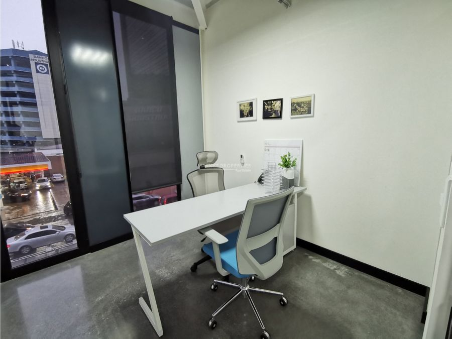 oficina en alquiler zona 4 xpo1 amueblada