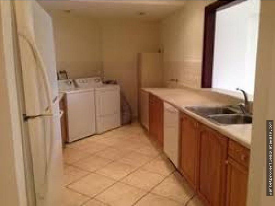 apartamento en alquiler zona 10 de 2 habitaciones
