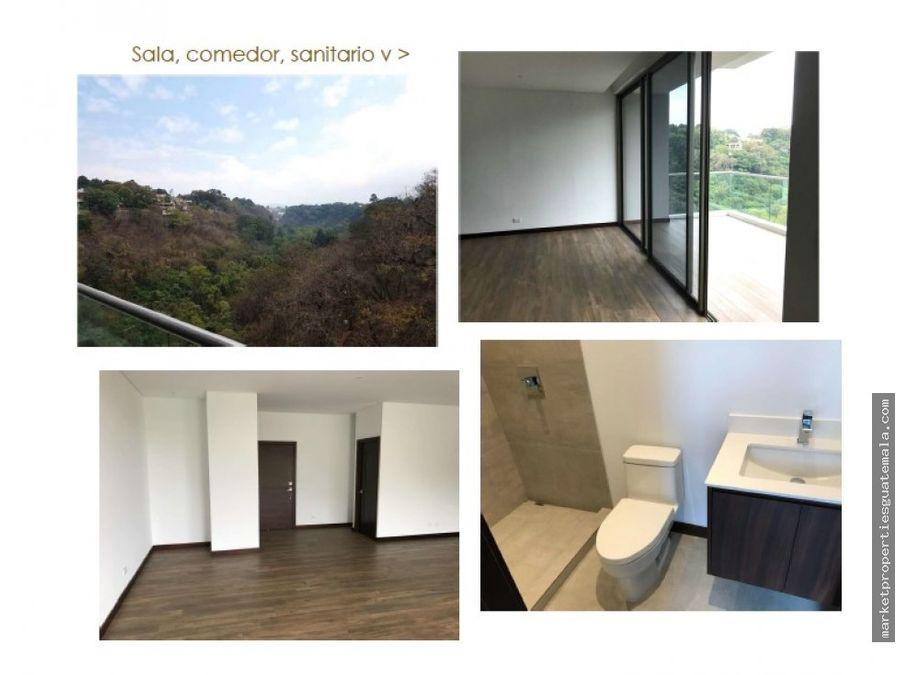 apartamento en renta zona 16 cayala guatemala