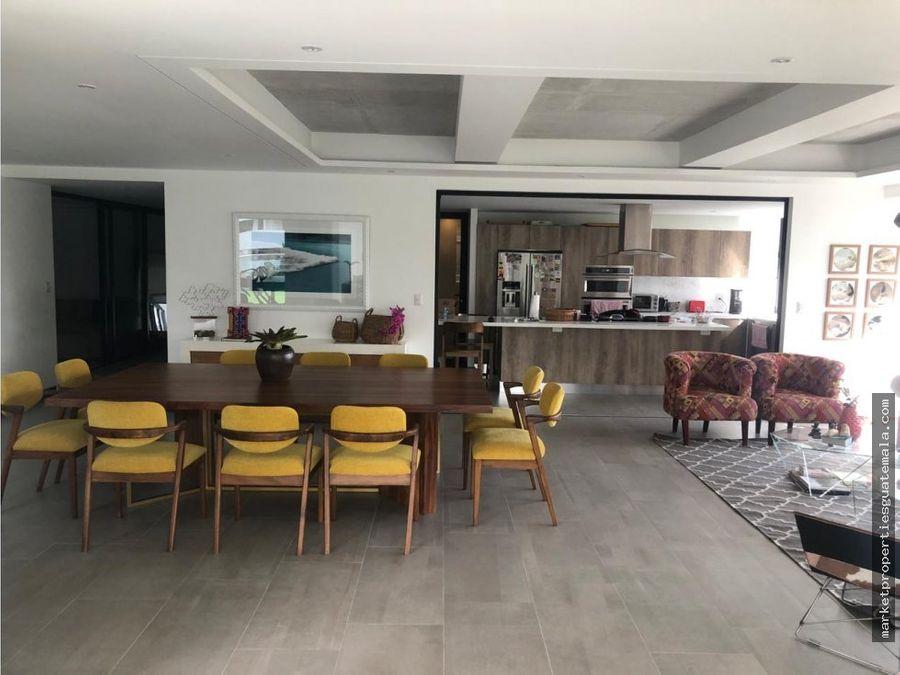 vendo apartamento de lujo zona 15 guatemala