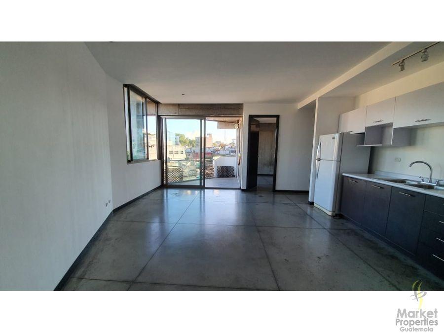 apartamento en renta en zona 4