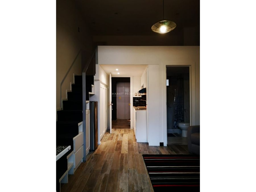 apartamento tipo loft en renta en zona 15