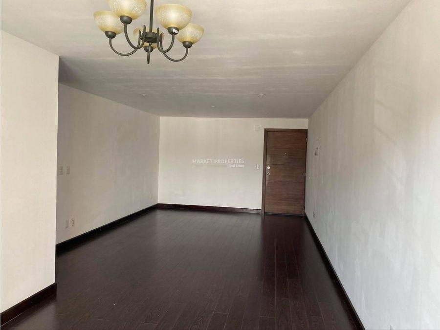renta de apartamento en edificio catania zona 14