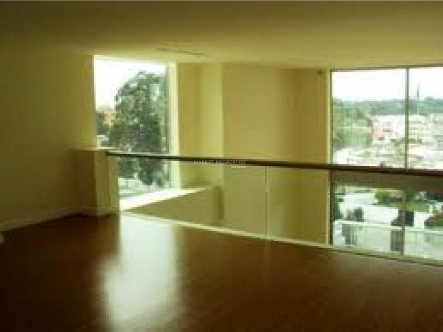 apartamento en alquiler en zona 10 torre atrium