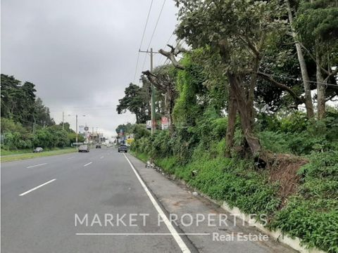 terreno en venta en kilometro 189 fraijanes carretera al salvador