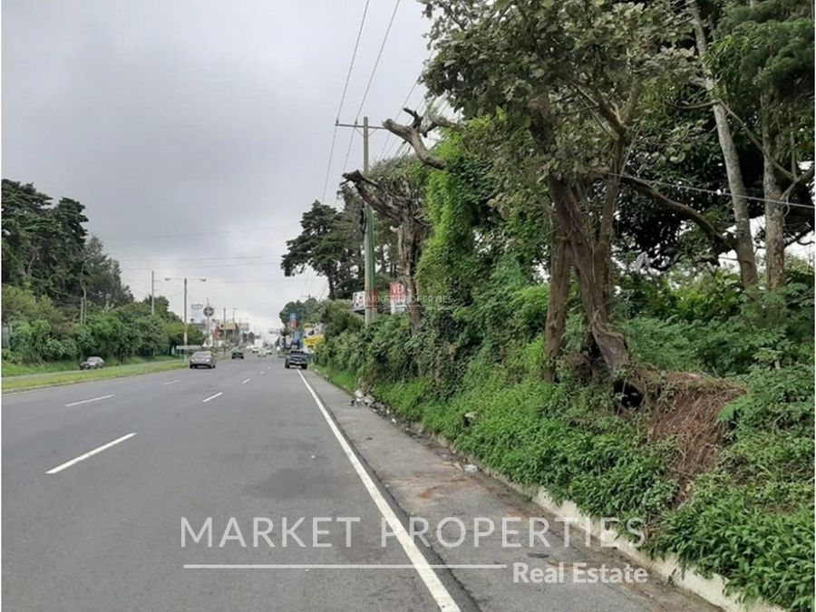venta de terreno en kilometro 189 fraijanes carretera al salvador