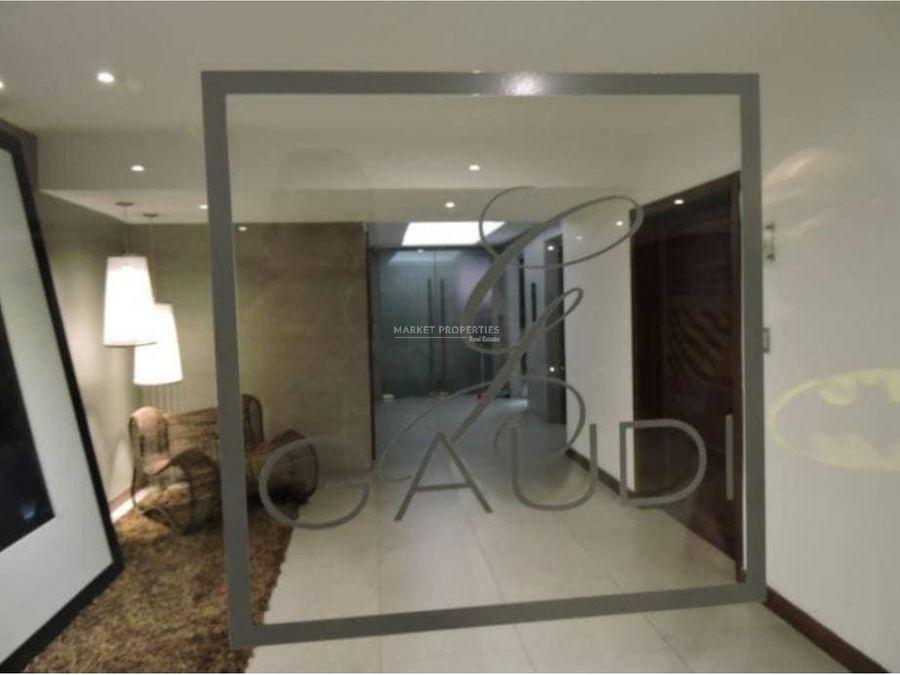 rento apartamento en edificio gaudi zona 14