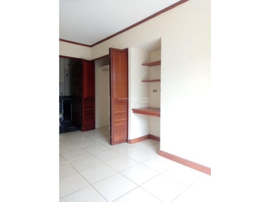 apartamento en alquiler en zona 14 edificio bohemia