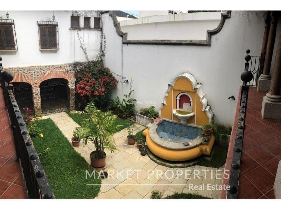 casa en renta en zona 16 jardines de san isidro