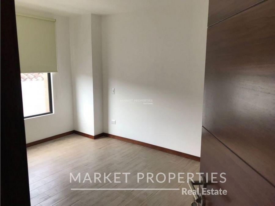 apartamento en renta en zona 15 edificio nivo