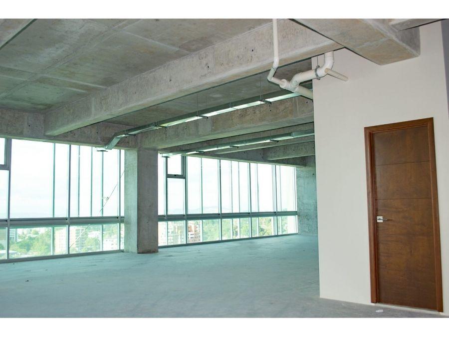 oficina en alquiler en zona 15 edificio insigne