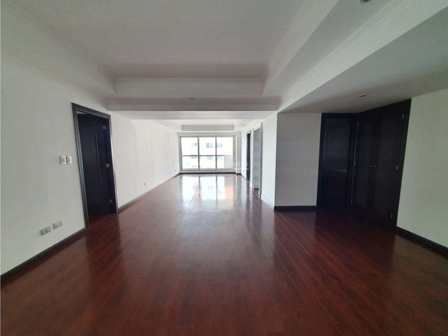 apartamento en renta en zona 14 edificio dali