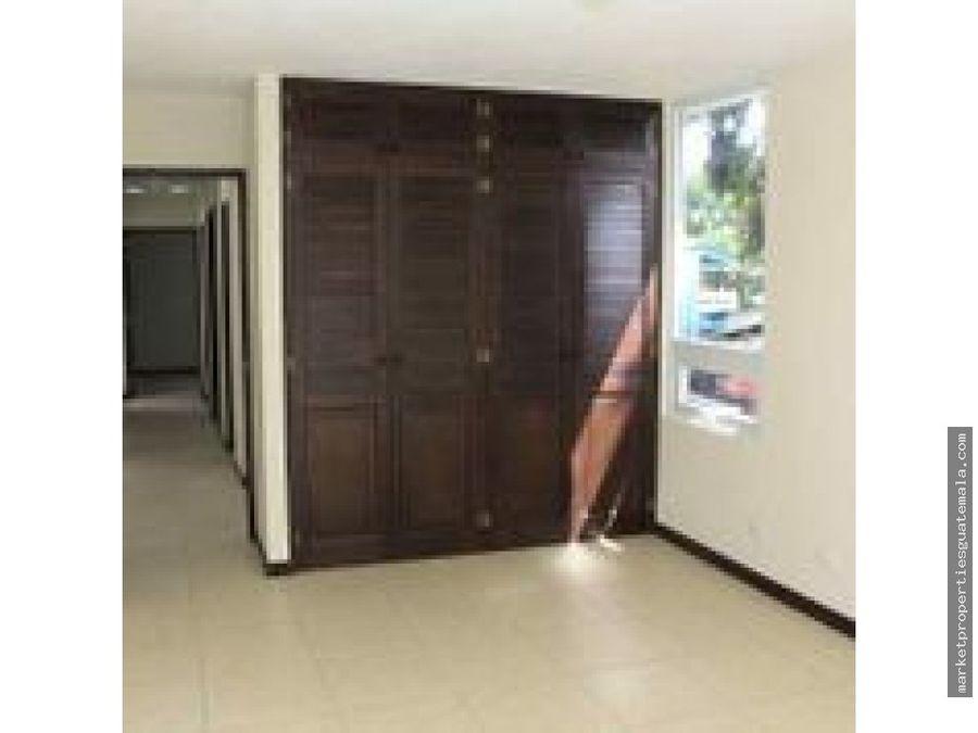apartamento en alquiler zona 16 por santa amelia