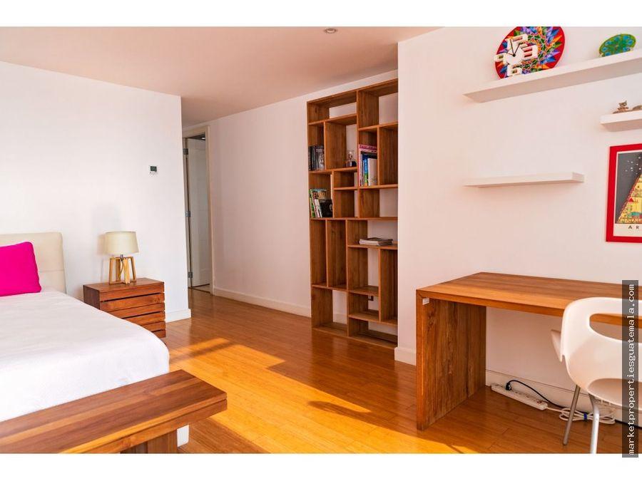 apartamento en venta en zona 10 atrium guatemala