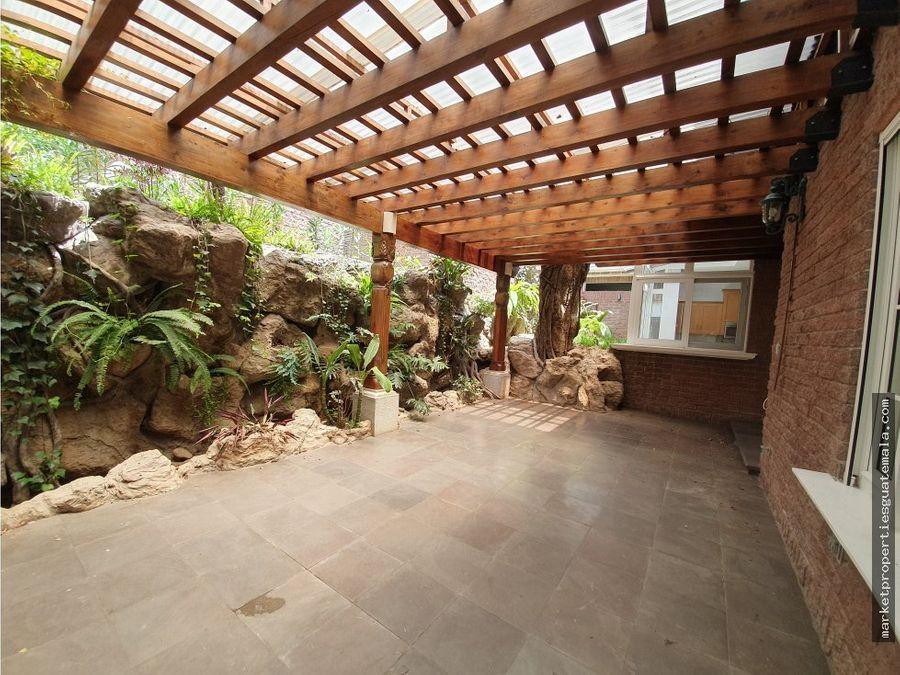 casa en renta zona 16 frente cayala guatemala