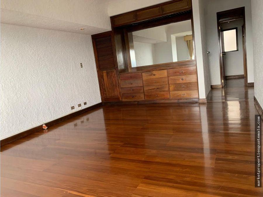 apartamento en alquiler de 3 habitaciones zona 15
