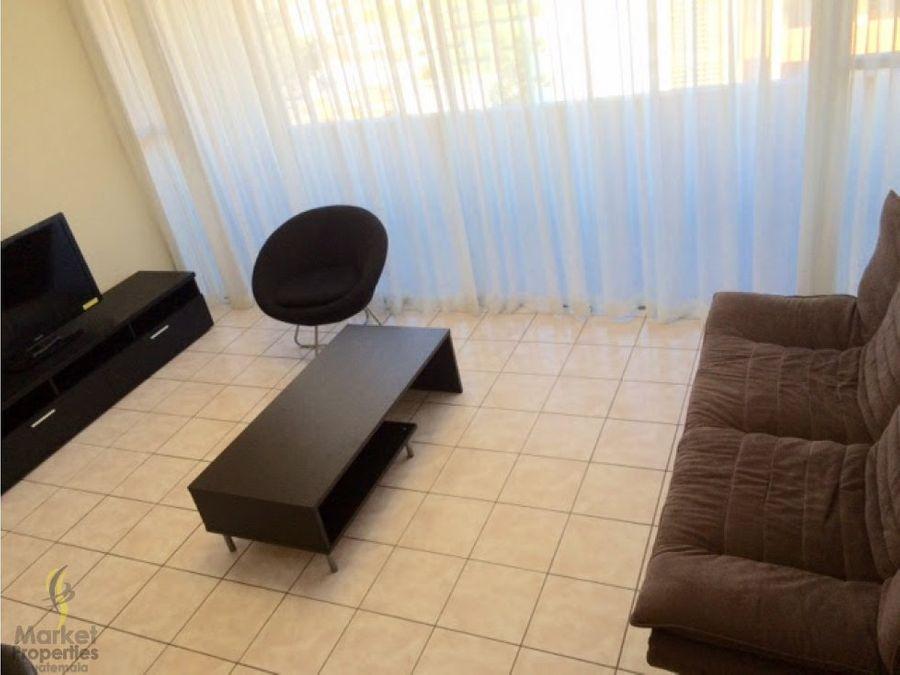 alquilo apartamento zona 9 amueblado