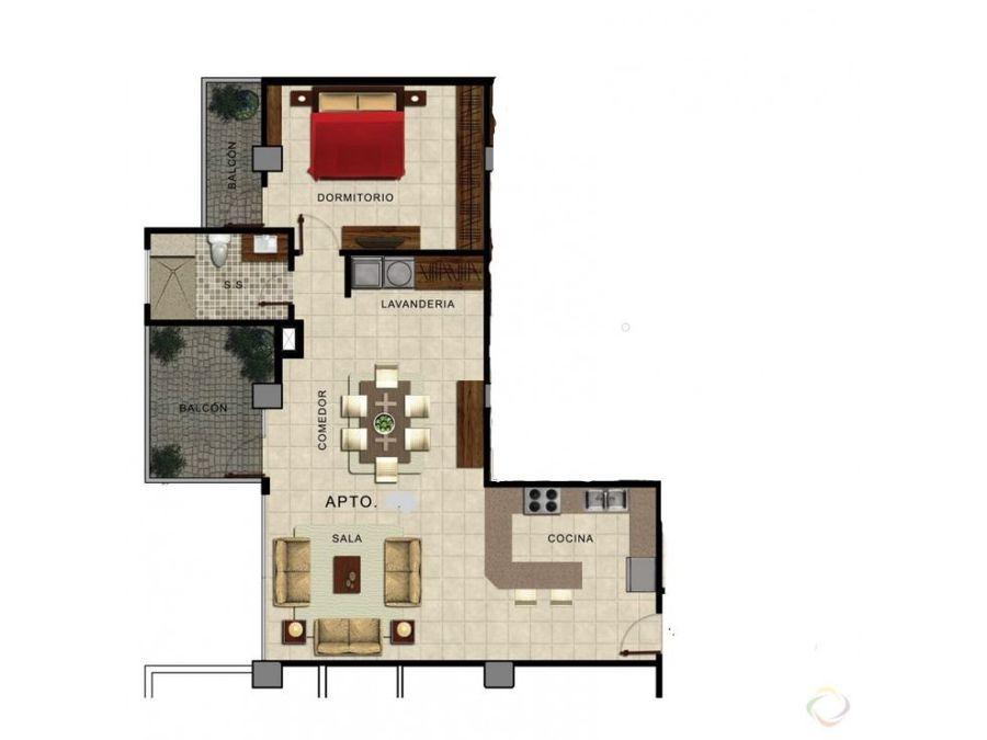 apartamento en alquiler zona 14 amueblado