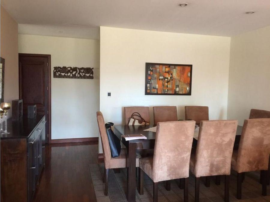 apartamento en alquiler en zona 14 torre canada