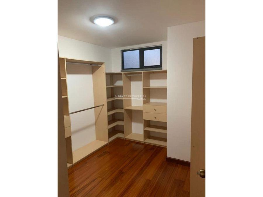 apartamento en alquiler en edificio bellagio zona 14