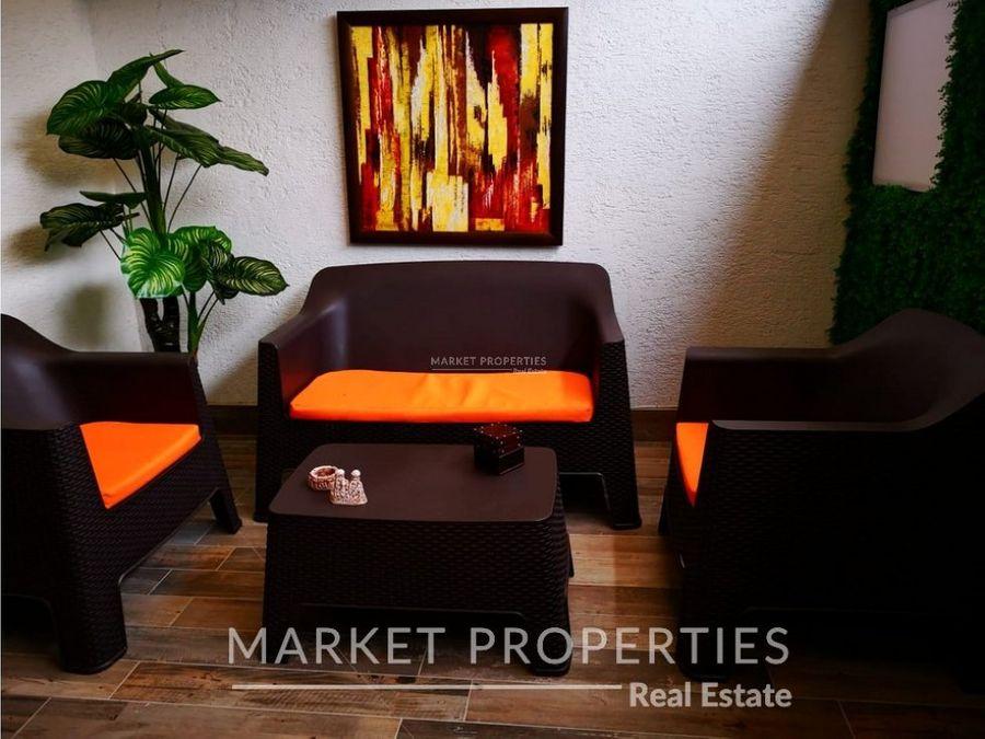 apartamento tipo loft en renta en zona 15 adamant